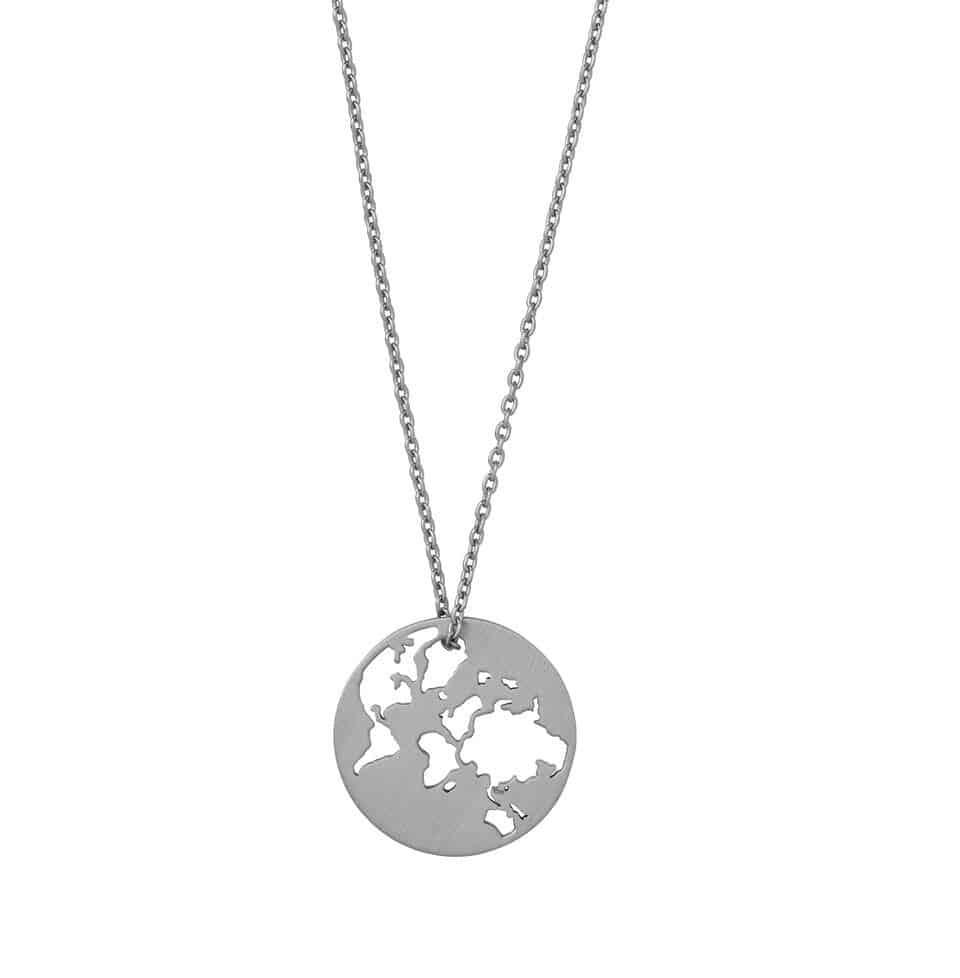 byBiehl - Beautiful World Med Kæde - Sølv