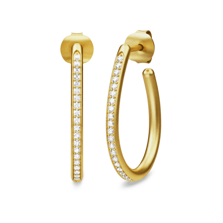 Julie Sandlau INFINITY PEAR HOOPS