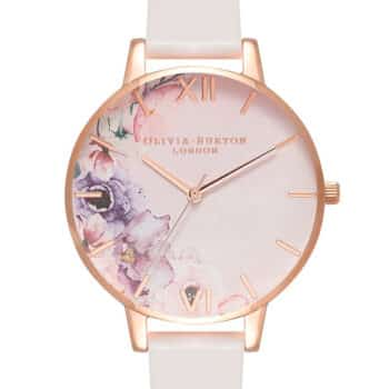 Olivia Burton WATERCOLOUR FLORALS BLUSH