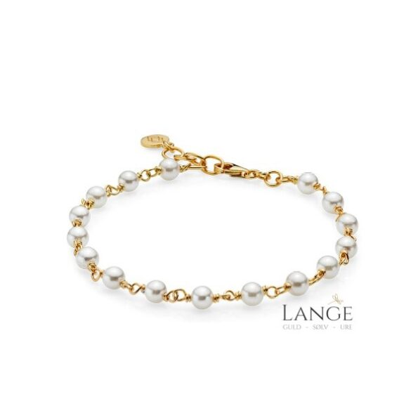 Izabel Camille MISS PEARL Armbånd a3112gswhite