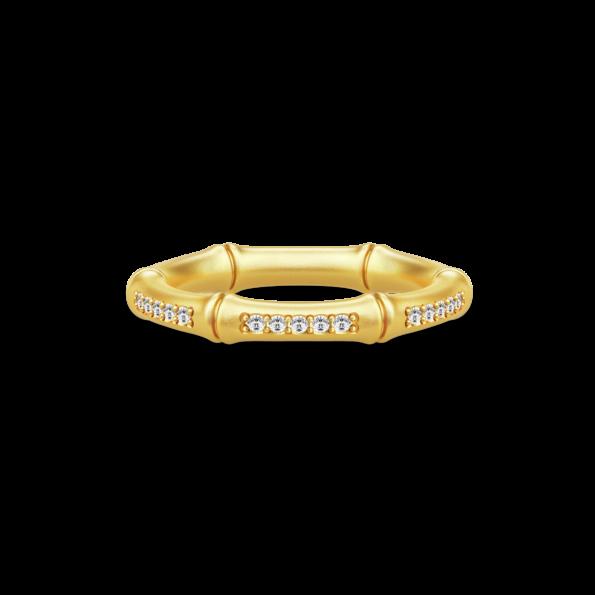 Julie Sandlau NOBLE BAMBOO Ring RI116GDCZ48
