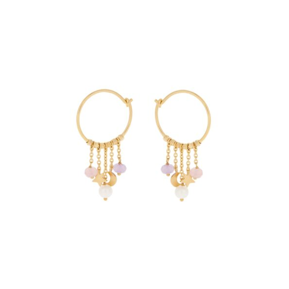 Pernille Corydon PASTEL DREAM Hoops e-276-gp