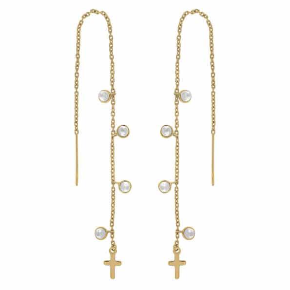 Nordahl Jewellery CROSS52 Ørekæder 325 730-3