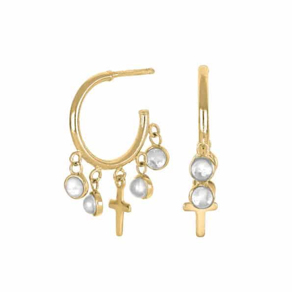 Nordahl Jewellery CROSS52 Creoler 325 731-3