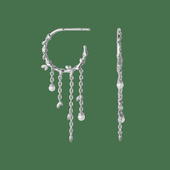 byBiehl JUNGLE IVY Hoops Pearl 4-3108P-R